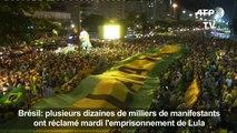 Des milliers de Brésiliens ont manifesté mardi contre Lula