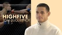 Clique High Five : Tom Duquesnoy, l'étoile montante du MMA