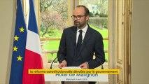 Réforme constitutionnelle :  Edouard Philippe annonce que l'inscription d'une spécificité corse dans la Constitution sera proposée dans le cadre de la réforme des institutions.