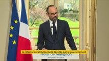 Réforme constitutionnelle : la réforme proposera d'élire 15% des députés à la proportionnelle lors des élections législatives, annonce Edouard Philippe