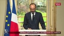 """Révision constitutionnelle: """" la Cour de Justice de la République sera supprimée"""" annonce Edouard Philippe:"""