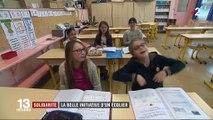 Nord : 5 écoliers collectent des fournitures scolaires pour les enfants défavorisés