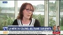 """Mère d'Arnaud Beltrame: """"Cette chaleur, toutes ces lettres, ces hommages, c'est réconfortant"""""""