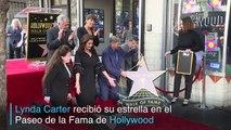 La Mujer Maravilla de los 70 recibe estrella en Hollywood