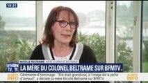 """Cérémonie d'hommage: """"Elle était grandiose, à l'image de la perte d'Arnaud"""", a déclaré Nicolle Beltrame"""