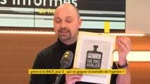 """Grèves SNCF : """"Le traitement médiatique des grèves me fait penser à des affiches de Mai 68"""", explique Thomas Guénolé  #lesinformés"""