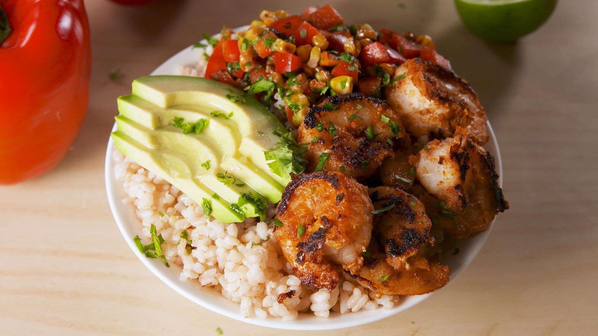These Blackened Shrimp Bowls Are Our Favorite Healthy Dinner