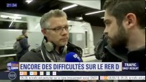 """""""Une heure de plus à l'aller, une heure de plus au retour"""" témoigne un usager du RER D"""