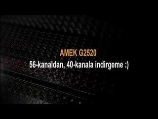 Amek G2520 Mixing Console - Final Cut