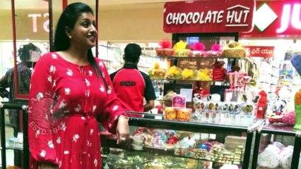 Actress Roja Watches Rangastalam Movie With Family Members