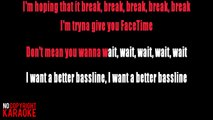 Tinashe feat Ty Dolla $ign, French Montana - Me so bad KARAOKE / INSTRUMENTAL