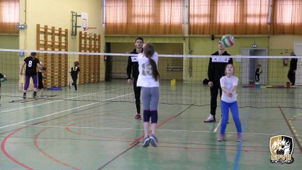 2018.03.28 Entrainement baby volley - Julien Gomme & Rogerio Brizola