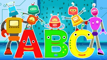ABC  with Robots Family