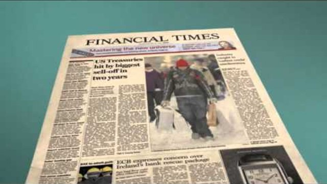 Financial Times Fingertips Advert - US Version