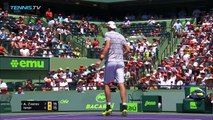 John Isner beats Zverev to win first Masters 1000 title! - Miami Open 2018 Final Highlights