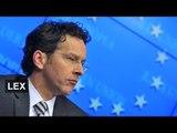 Big shoes to fill at eurogroup