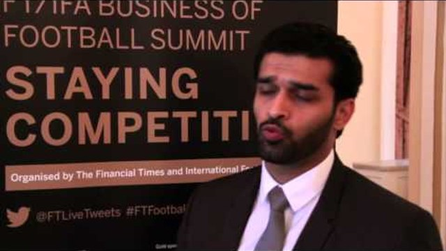 Financial Times Business of Football conference 2013