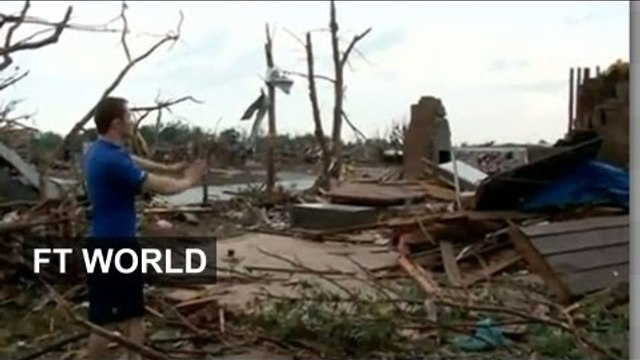 Oklahoma tornado aftermath