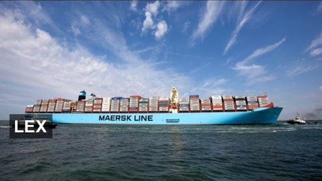 Slower sailing builds Maersk profits