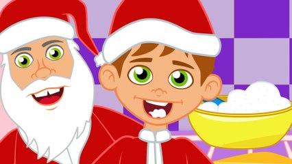 Johny Johny si papa con Papá Noel