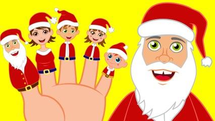 La Familia Dedo con Papá Noel