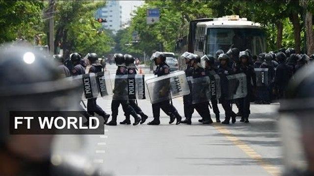 Bangkok nervous after coup