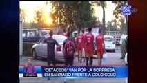 'Cetáceos' van por la sorpresa en Santiago frente a Colo Colo