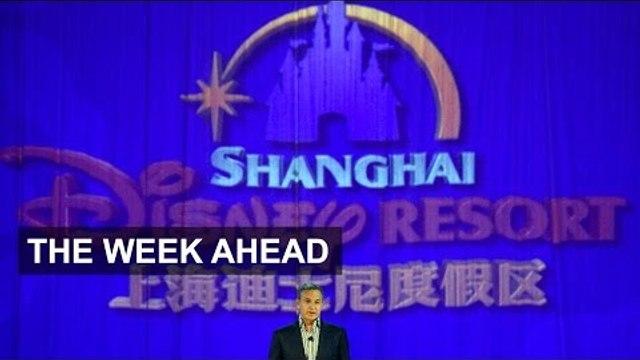 Disney opens China resort, Inditex results | Week Ahead