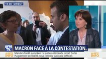 """Réformes: le gouvernement a """"un problème de connaissance de l'histoire sociale de la France"""", estime Rossignol"""