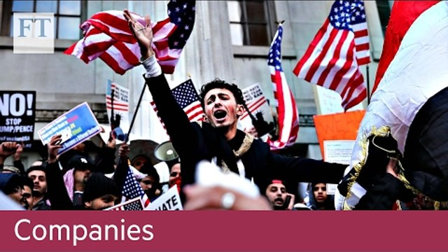 US tech versus Donald Trump   Companies