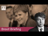 Scottish independence looms over Brexit