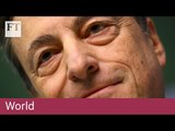 Draghi optimistic over ECB policy