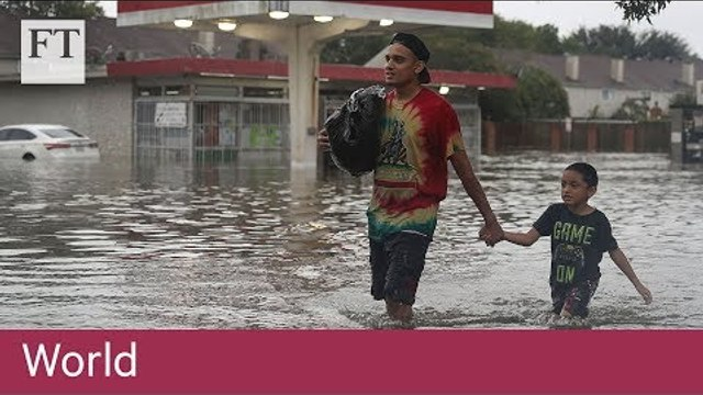 Houston hit by 'catastrophic' flooding