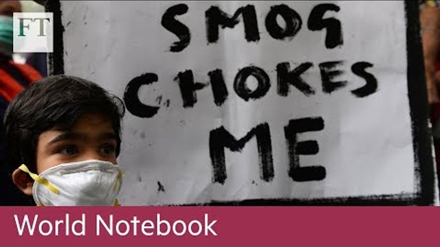 Choking in New Delhi: a winter smog threat