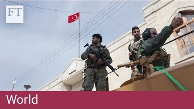 Turkish-backed forces oust Kurdish militants from Afrin