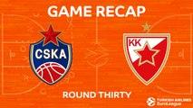 Highlights: CSKA Moscow - Crvena Zvezda mts Belgrade