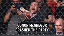 Conor McGregor causes chaos at UFC 223 Media Day in New York