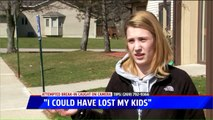 Michigan Mom Describes Attempted Home Invasion Caught on Surveillance Video