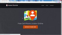 GPS PHONE LOCATOR - Locate now any cell phone