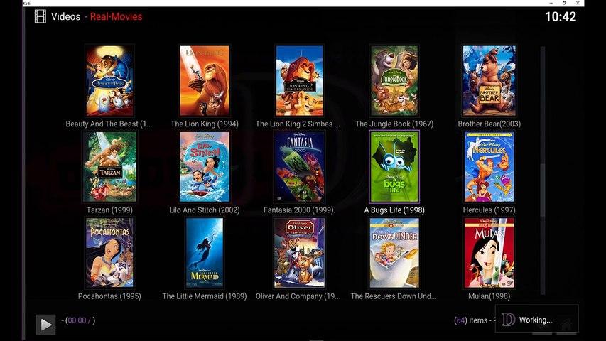 REAL MOVIES KODI ADDON FOR 4K, FULL HD & HD, 3D MOVIES!!!