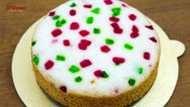 EGGLESS RAVA CAKE CAKE RECIPE I Sooji Cake Recipe - Semolina Cake I Without Oven
