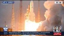 Mission réussie pour Ariane 5 qui a placé deux satellites en orbite cette nuit
