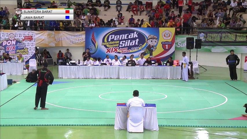 PON 2018 - PENCAK SILAT - SUMATRA BARAT vs  JAWA BARAT