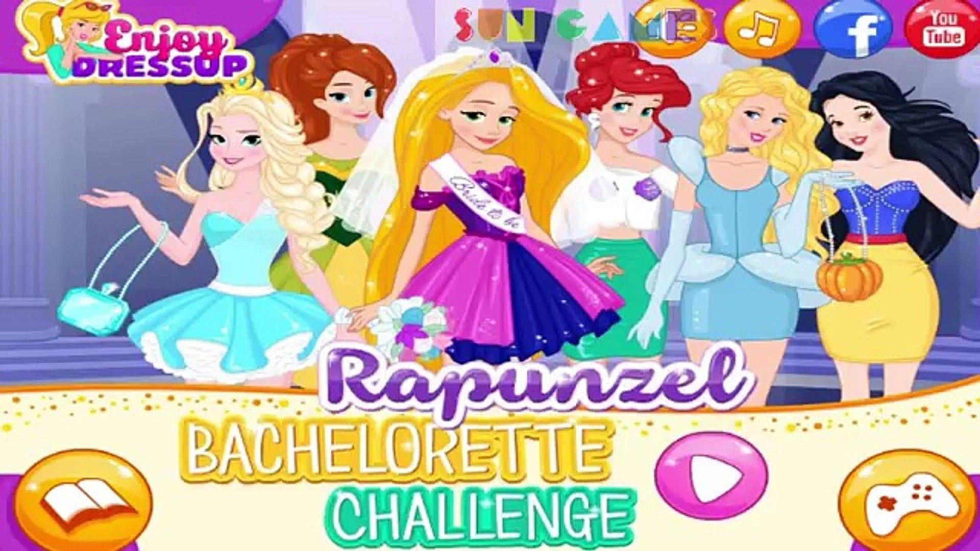 Принцесса Рапунцель собирается на свадьбу. Игры для девочек.