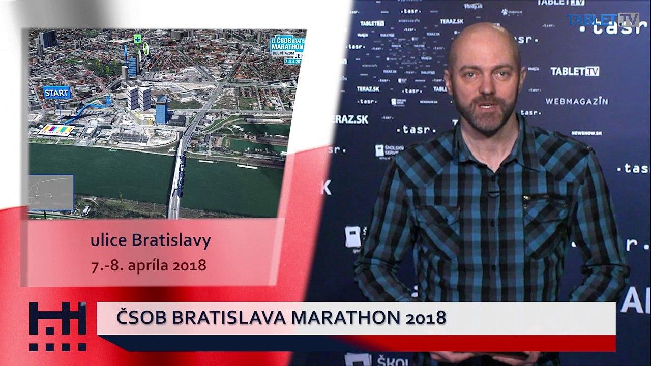 POĎ VON: Fotograf Bazovský a Bratislavský maratón
