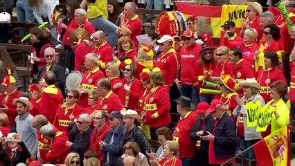 LIVE: Spain v Germany Opening Ceremony