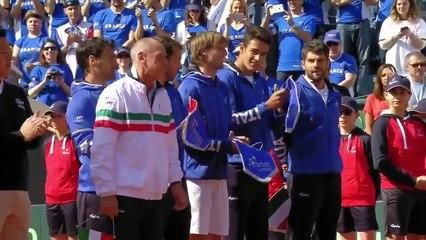 Italy v France - Opening Ceremony