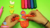 Play Doh Cupcakes Surprise Toys Learning Colours with Play Dough Cake Molds Fun and Creative