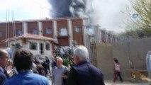 Dudullu Organize Sanayii Sitesi'nde trafoda yangın çıktı