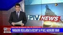 #PTVNEWS: Panayam ng #PTVNews kay Atty. Vic Rodriguez kaugnay sa umano'y panibagong iregularidad sa recount sa VP race